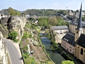 Luxembourg-ville : circuit Wenzel